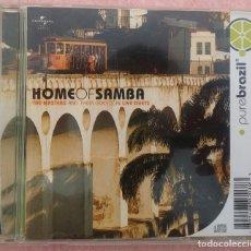 CDs de Música: PURE BRAZIL - HOME OF SAMBA (UNIVERSAL / MERCURY, 2003) /// ED. BRASIL ORIGINAL, RARO /// FORRÓ AXÉ. Lote 171125907