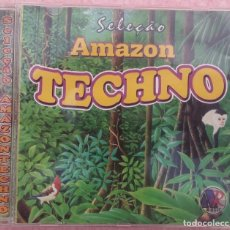 CDs de Música: SELEÇAO AMAZON TECHNO (AR MUSIC) /// ED. BRASIL ORIGINAL, RARO /// SAMBA AXÉ FORRÓ BOSSA FUNK PAGODE. Lote 171126057
