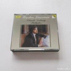 CDs de Música: CLAUDE DEBUSSY - KRYSTIAN ZIMERMAN - 2 CD. Lote 171140502