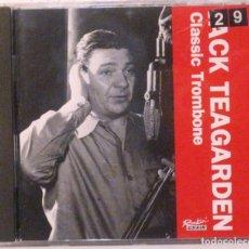 CDs de Música: JACK TEAGARDEN - CLASSIC TROMBONE - CD . Lote 171157829