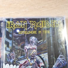CDs de Música: IRON MAIDEN SOMEWHERE IN TIME. Lote 171162948