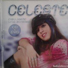 CDs de Música: CELESTE - DIBUJARTE UNA SONRISA - CANTANTE ARGENTINA - PRIMER DISCO 2006. Lote 171169259