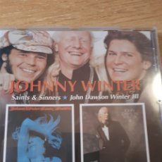 CDs de Música: JOHNY WINTER SAINTS & SINNERS JOHN DAWSON WINTER. Lote 171176245