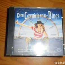CDs de Música: EVEN COWGIRLS GET THE BLUES. K. D. LANG . MOTION PICTURE SOUNDTRACK. CD. IMPECABLE. Lote 171187728