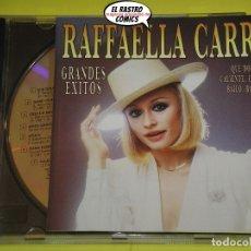 CDs de Música: RAFFAELLA CARRÁ, GRANDES ÉXITOS, CD, HISPAVOX, AÑO 1992. Lote 171200663