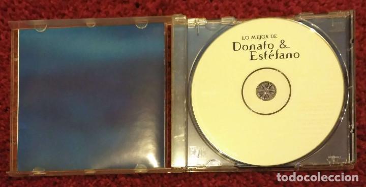 CDs de Música: DONATO & ESTEFANO (LO MEJOR DE DONATO & ESTEFANO) CD 2000 - JULIO IGLESIAS - Foto 3 - 171202459