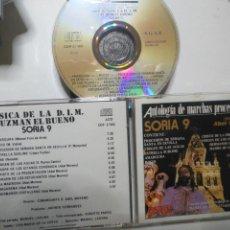 CDs de Música: CD SEMANA SANTA ANTOLOGIA MARCHAS PROCESIONALES SORIA 9 DIRECTOR ABEL MORENO. Lote 171207668