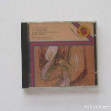 CDs de Música: STRAVINSKY - THE FIREBIRD, PETRUSCHKA - NEW YORK PHILHARMONIC, LEONARD BERNSTEIN. Lote 171217454