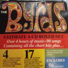 CDs de Música: THE BYRDS BOX SET 4CD ( 1990 CBS ) LIBRETO 56 PAGINAS 4CDS TODOS PRECINTADOS. Lote 171221907