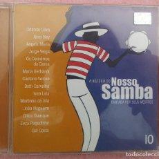CDs de Música: A HISTÓRIA DO NOSSO SAMBA CANTADA POR SEUS MESTRES, VOL. 10 (BMG, 2002) // ED. BRASIL ORIGINAL, RARO. Lote 171260924