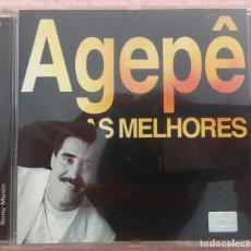 CDs de Música: AGEPÊ - AS MELHORES (SONY / COLUMBIA) /// ED. BRASIL ORIGINAL, RARO /// SAMBA / AXÉ / FORRÓ / BOSSA. Lote 171261123