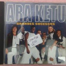 CDs de Música: ARA KETU - GRANDES SUCESSOS (COLUMBIA) /// ED. BRASIL ORIGINAL, RARO /// SAMBA AXÉ FORRÓ BOSSA FUNK. Lote 171261348