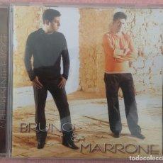 CDs de Música: BRUNO & MARRONE - MEU PRESENTE É VOCE (SONY BMG, 2005) /// ED. BRASIL ORIGINAL, RARO /// SAMBA AXÉ. Lote 171261757
