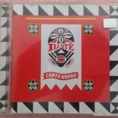 CDs de Música: CANTO NEGRO - ILE AIYÊ (WARNER MUSIC, 2003) /// ED. BRASIL ORIGINAL, RARO /// SAMBA AXÉ FORRÓ BOSSA. Lote 171261939
