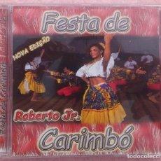 CDs de Música: FESTA DE CARIMBÓ - ROBERTO JR. (ATRAÇAO FONOGRÁFICA, 2004) /// ED. BRASIL ORIGINAL, RARO /// SAMBA. Lote 171262408