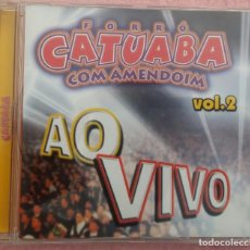 CDs de Música: FORRÓ CATUABA COM AMENDOIM - AO VIVO, VOL. 2 (SOM ZOOM, 2002) // ED. BRASIL ORIGINAL, RARO /// SAMBA. Lote 171262608