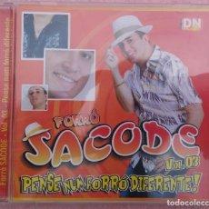 CDs de Música: FORRÓ SACODE VOL. 3 - PENSE NUM FORRÓ DIFERENTE! (DN MUSIC) /// ED. BRASIL ORIGINAL, RARO /// SAMBA. Lote 171262744