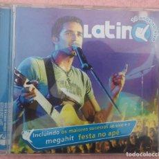 CDs de Música: LATINO - 10 ANOS AO VIVO (EMI, 2005) /// ED. BRASIL ORIGINAL, RARO /// SAMBA AXÉ FORRÓ BOSSA FUNK. Lote 171263158