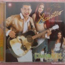 CDs de Música: LIMAO COM MEL - UM ACÚSTICO DIFERENTE (ATRAÇAO FONOGRÁFICA, 2003) /// ED. BRASIL ORIGINAL, RARO. Lote 171263320
