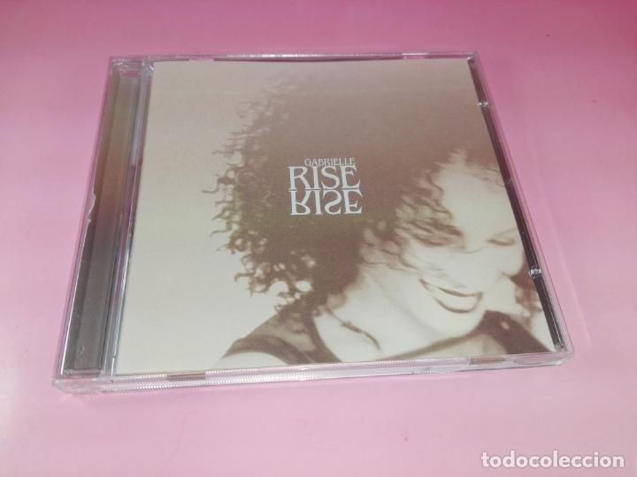 CD-GABRIELLE RISE-GO BEAT LTD-1999-11 TEMAS-BUEN ESTADO-VER FOTOS. (Música - CD's Jazz, Blues, Soul y Gospel)