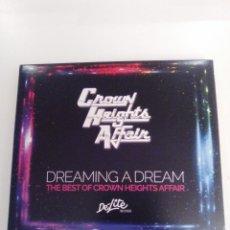 CDs de Música: CROWN HEIGHTS AFFAIR DREAMING A DREAM THE BEST OF 2CD ( 2015 DE LITE BMG ) EXCELENTE ESTADO. Lote 171275460