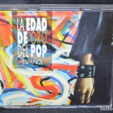 CDs de Música: VARIOUS - LA EDAD DE ORO DEL POP ESPAÑOL - 2 CD. Lote 171306138