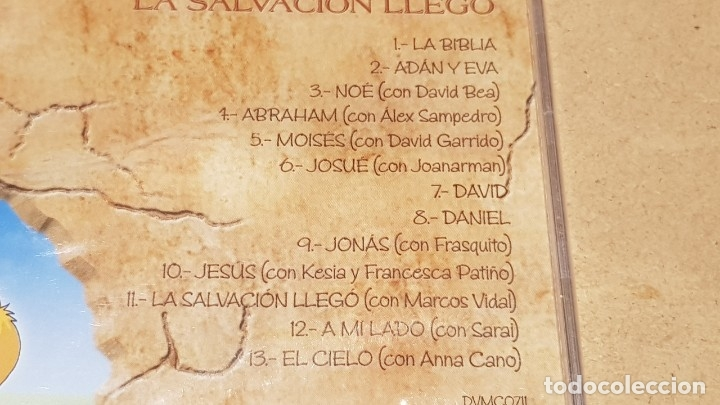 CDs de Música: CANTA Y RIE / LA BANDA SONORA DE LA BIBLIA / LA SALVACIÓN LLEGÓ / CD-13 TEMAS / PRECINTADO. - Foto 3 - 171323504