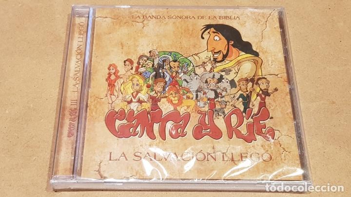 CANTA Y RIE / LA BANDA SONORA DE LA BIBLIA / LA SALVACIÓN LLEGÓ / CD-13 TEMAS / PRECINTADO. (Música - CD's Bandas Sonoras)