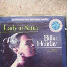 CDs de Música: BILLIE HOLIDAY LADY IN SATIN. Lote 171335870