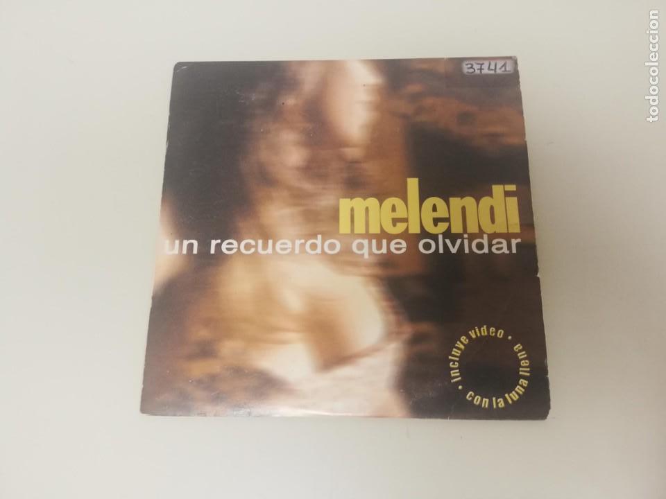 719 - MELENDI UN RECUERDO QUE OLVIDAR CD SINGLE PROMOCIONAL (Música - CD's Otros Estilos)