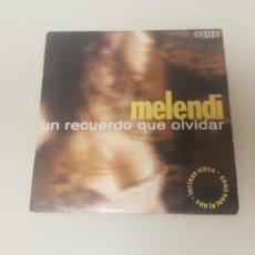 CDs de Música: 719 - MELENDI UN RECUERDO QUE OLVIDAR CD SINGLE PROMOCIONAL. Lote 171353699