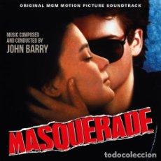 CDs de Música: MASQUERADE / JOHN BARRY CD BSO - QUARTET. Lote 171368923