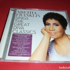 CDs de Música: ARETHA FRANKLIN, SING THE GREAT DIVA CLASSICS 2014. Lote 171372860