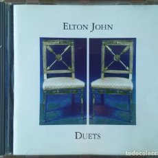 CDs de Música: ELTON JOHN DUETS. Lote 171374462