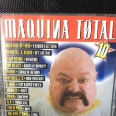 CDs de Música: MAQUINA TOTAL 10-2 CD-EXCELENTE ESTADO. Lote 171388027