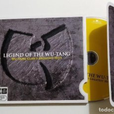 CDs de Música: CD WU-TANG CLAN: LEGEND OF THE WU-TANG, GRANDES ÉXITOS, BELGICA 2007,COMO NUEVO. Lote 171417505