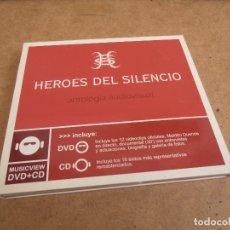 CDs de Música: HEROES DEL SILENCIO - ANTOLOGIA AUDIOVISUAL - CD + DVD. Lote 171429188
