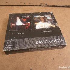 CDs de Música: 2 CD - DAVID GUETTA - POP LIFE - GUETTA BLASTER -. Lote 171430805