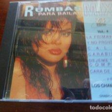 CDs de Música: BAILA MI RUMBA LOS CHAMARONES. Lote 171451079