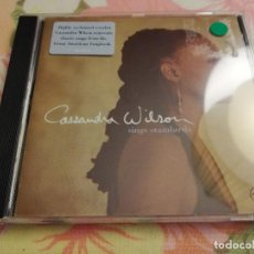 CDs de Música: CASSANDRA WILSON. SINGS STANDARDS (CD). Lote 171459268