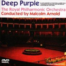 CDs de Música: DEEP PURPLE 2XCD+DVD CONCERTO FOR GROUP AND ORCHESTRA (DOBLE CD Y DVD EN DIGIPACK DESPLEGABLE). Lote 171491062