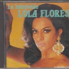 CDs de Música: LA INIMITABLE LOLA FLORES CD 1991 DIVUCSA. Lote 171513192