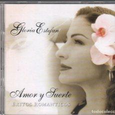 CDs de Música: GLORIA ESTEFAN - AMOR Y SUERTE - ÉXITOS ROMÁNTICOS - CD+ DVD SONY DE 2004 RF-2363. Lote 171554700