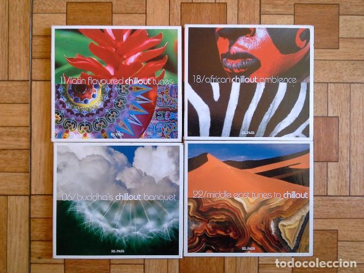 LOTE 4 CDS CHILLOUT - EL PAÍS (Música - CD's Otros Estilos)