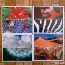 CDs de Música: LOTE 4 CDS CHILLOUT - EL PAÍS. Lote 171578634
