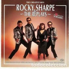 CDs de Música: ROCKY SHARPE & THE REPLAYS - GREATEST HITS - 2XCD . Lote 171589315