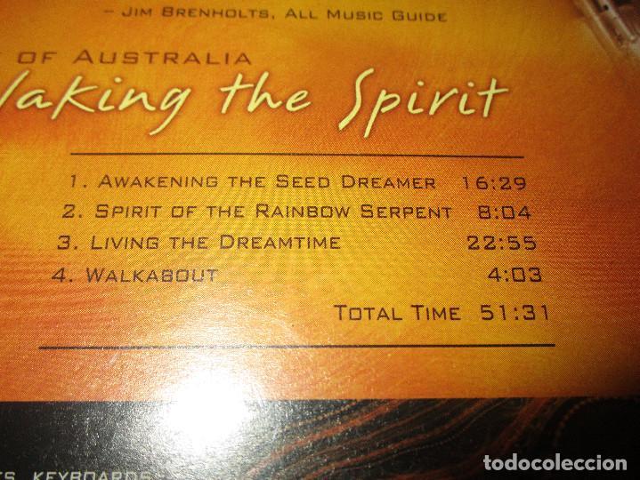 CDs de Música: SPIRIT OF AUSTRALIA ( TERRY OLDFIELD ) - CD - NE 3010 - NEW EARTH - LIVING THE DREAMTIME ... - Foto 4 - 171621500