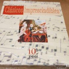 CDs de Música: CLÁSICOS IMPRESCINDIBLES / CAJA-PACK 10 CDS / PRECINTADO.. Lote 171633045