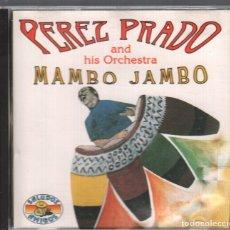 CDs de Música: PEREZ PRADO , MAMBO JAMBO / CD ALBUM DE 1992 RF-2393 , PERFECTO ESTADO , EDICION RARA. Lote 171663524