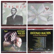 CDs de Música: LOTE 2 CD'S ANTONIO MACHIN (SIEMPRE MACHIN - 20 EXITOS MILLONARIOS) * VER FOTOS. Lote 171680703